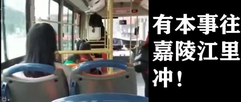 《女子辱骂公交司机近半小时:有本事往嘉陵江里冲!为什么规则会被无视?》